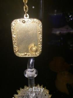 1950s Antique Reuge Swiss made music box Key ring