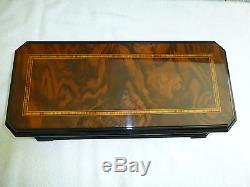1970s Reuge Music Interchangeable 50 Notes, 5 Tunes Music Box (WATCH THE VIDEOS)