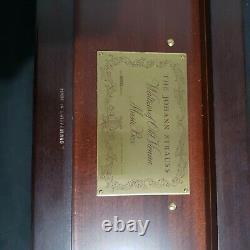 1985 Reuge Franklin Mint Johann Strauss Waltzes Old Vienna 5 Cylinder Music Box