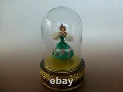 50s Reuge Danseur Louis Vuitton Large 2 Songs Model Dancing Ballerina Music Box
