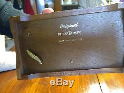 72 Note Reuge Music Box Beethoven's 5th, 6th, 9th. Original Mahogany Box