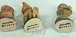 Anri Miniatures Treasure Chest Music Box Limited Edition -it's A Small World