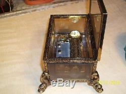 Beautiful Music Box With A 50 Note Reuge Movement Dolphin Feet