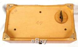 Beautiful Reuge 72 Note Music Box 3 Pieces by Bach