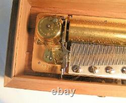 Beautiful Reuge Music Box 3/72 Allegro, Romance & Minuet by W A Mozart
