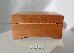 Beautiful Vintage Reuge Switzerland Music Box CH 2/36 Mozart watch video