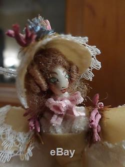 Boîte à musique avec figurine Reuge Tristesse de Chopin. Reuge Music Box