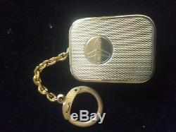 Brand New Super Rare Vintage Swiss Reuge Miniature Keychain Music Box Pendant