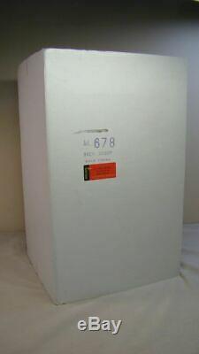 Capodimonte Cherub Musical Carousel Cigarette Dispenser w Box Reuge Blue Danube