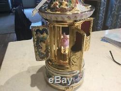 Capodimonte Reuge cigar carousel music box Doctor Zhivago Laras Theme 4809