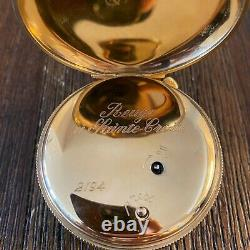 Charles Reuge Double Automation Pocket Watch Moving Face Musical Watch