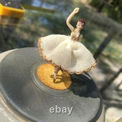 Cody Dancing Ballerina Music Box Vintage working 1950's Musical Creation Reuge