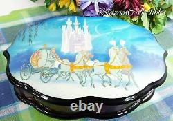 Disney Cinderella Reuge Music box 72 note 3 songs Limited Edition 38/150