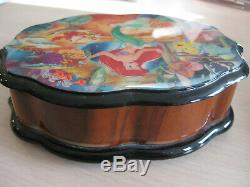 Disney Reuge Little Mermaid Music Box #63 of 250 Plays'Part of your World' Rare