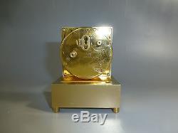 EXC Rare Vintage Swiss Angelus Music Alarm Clock Pre Reuge Music Box Plays Alarm