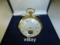 Exc Swiss Reuge Music Box Musical Mechanical Pocket Watch (watch The Video)
