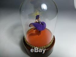 Exc. Vintage Reuge French Dancing Cancan Music Box Automaton (watch The Video)