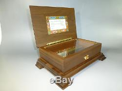 Exc. Vintage Swiss Reuge Music Box Love Story Ch 4/50 (watch The Video)