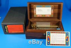 Exceptional Vintage Reuge 3/72 Swiss Music Box Clair de Lune/Debussy