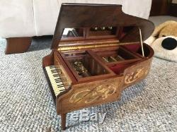 Faberge The Concert Tchaikovsky Music Box 50-Note Reuge Franklin Mint