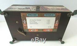 Fabulous Reuge Large CH4/50 Music Box Chest 4-Song Switzerland St. Croix 45071
