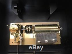 Frederic Chopin Reuge Music Box 50 Notes Interchangeable Cylinders