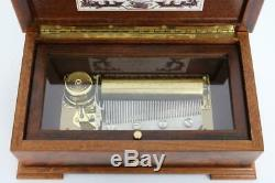 GOOD REUGE CYLINDER MUSIC BOX large Ch3/50 BEETHOVEN FUR ELISE etcetera