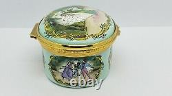 Halcyon Days Enamels Royal Ballet The Dream Reuge Music Box, Limited