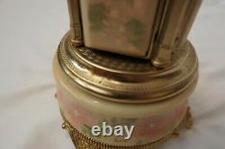 Italian Reuge Music Box Carousel Cigarette / Lipstick