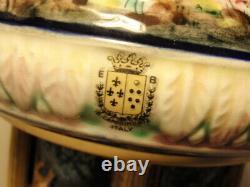 Italy Reuge Laras Theme Doctor Zhivago Music Box Cigarette Carousel Cherubs
