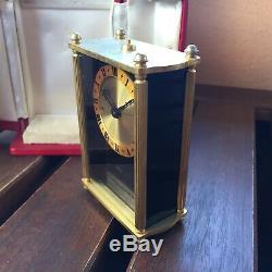 JLC Jaeger-LeCoultre 8 days ref 59 + music box (carillon) Reuge ST Croix, clock