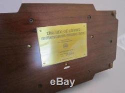 LE Reuge Music Box Franklin Mint Vatican Museum The Life of Christ Millennium