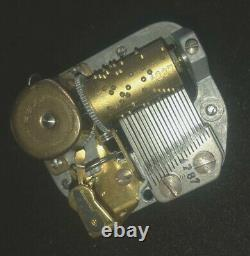 LOT of TEN Reuge 18 Note Music Box Movements, NEW OLD STOCK, CHOOSE ANY 10 TUNES