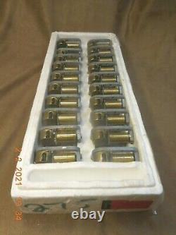 Lot Of 20 New Reuge 18 Note Music Box Movements Tiger Rag (see Video)
