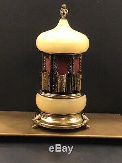 MCM Reuge Carousel Music Box Italy Lipstick Perfume Cigarette Holders Zhivago