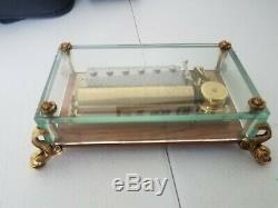 Mint Cond Reuge 3/72 Note Vintage Music Box Plays The Thieving Magpie See Video