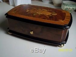 Music Box Original Reuge 3/50 Gorgeous S# 00761 Excellent Condition