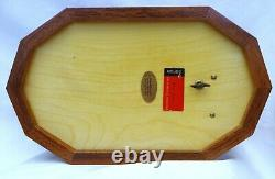 NOS REUGE Marquetry/Inlaid Wood/Wooden Treasure Chest/Jewelry Music BoxMozart