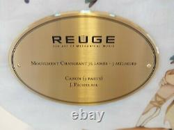 New Reuge Music Box 3.72 Canon By Pachelbel (watch Video, 2 Year Warranty)