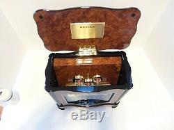 New Reuge Music Box 3.72 With Striking Bells (watch Video, 2 Year Warranty)