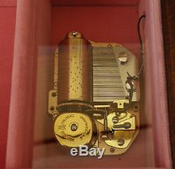 REUGE Boîte à Musique Menuet Beethoven Spieluhr Cylinder Music Box Suisse