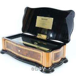 REUGE CYLINDER MUSIC BOX Sublime Harmony MOZART 2 combs EXCELENT CONDITION clock