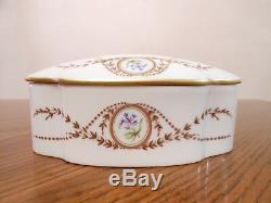 REUGE LIMOGES Porcelain Music Box Switzerland