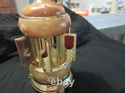 REUGE Lipstick Cigarette Music Box/Carousel Dispenser Made in Italy