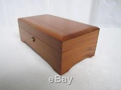 REUGE Music Box 4-Tune 50 Note Beautiful Swiss Made Music Box
