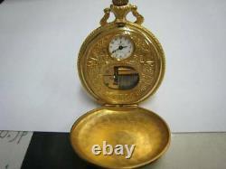REUGE Music Box Pocket Watch Working Vintage Rare