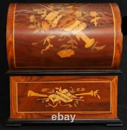 REUGE Music Thorens Treasure Chest Music Box With Six Discs