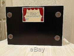 REUGE Music Treasure Chest 4-1/2 Disc Movement Music Box With Set of 6 Discs