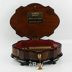 REUGE Musical Inlaid Box Mother-of-Pearl PHANTOM OF THE OPERA 3/72 MVMT