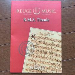 REUGE Ruge Music Box Titanic MY HEART WILL GO ON